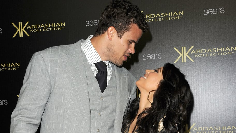 HOLLYWOOD, CA - AUGUST 17:  Kris Humphries and Kim Kardashian attend the Kardashian Kollection Launch Party at The Colony on August 17, 2011 in Hollywood, California.  (Photo by Jason Merritt/Getty Images)