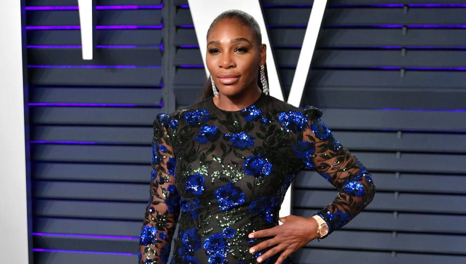 BEVERLY HILLS, CA - FEBRUARY 24:  Serena Williams attends the 2019 Vanity Fair Oscar Party hosted by Radhika Jones at Wallis Annenberg Center for the Performing Arts on February 24, 2019 in Beverly Hills, California.  (Photo by Dia Dipasupil/Getty Images)