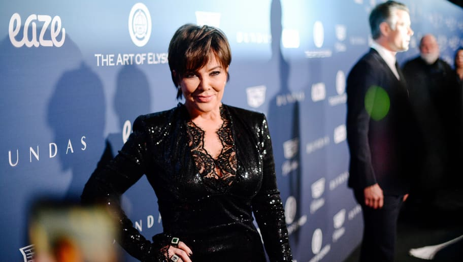 LOS ANGELES, CALIFORNIA - JANUARY 05: (EDITORS NOTE: Image has been edited using digital filters) Kris Jenner attends Michael Muller's HEAVEN, presented by The Art of Elysium on January 05, 2019 in Los Angeles, California. (Photo by Matt Winkelmeyer/Getty Images)