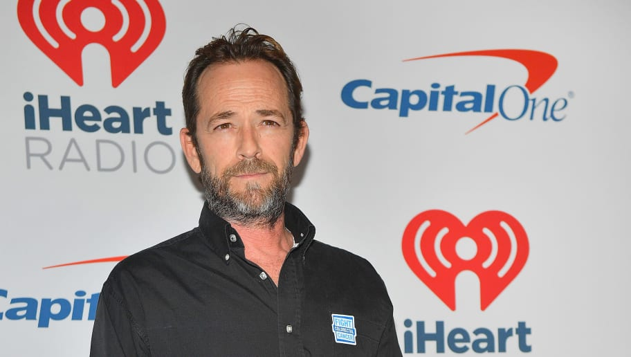 LAS VEGAS, NV - SEPTEMBER 22: (EDITORIAL USE ONLY; NO COMMERCIAL USE)  Luke Perry attends the iHeartRadio Music Festival at T-Mobile Arena on September 22, 2018 in Las Vegas, Nevada.  (Photo by Sam Wasson/Getty Images for iHeartMedia)