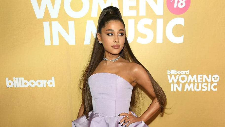 NEW YORK, NY - DECEMBER 06:  Ariana Grande attends Billboard Women In Music 2018 on December 6, 2018 in New York City.  (Photo by Mike Coppola/Getty Images for Billboard )