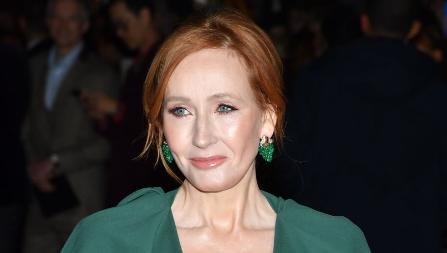 PARIS, FRANCE - NOVEMBER 08:  Writer J.K. Rowling attends 'Fantastic Beasts: The Crimes Of Grindelwald' World Premiere at UGC Cine Cite Bercy on November 8, 2018 in Paris, France.  (Photo by Pascal Le Segretain/Getty Images)