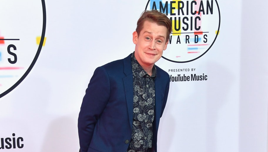 LOS ANGELES, CA - OCTOBER 09:  Macaulay Culkin attends the 2018 American Music Awards at Microsoft Theater on October 9, 2018 in Los Angeles, California.  (Photo by Frazer Harrison/Getty Images)