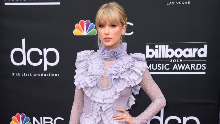 LAS VEGAS, NEVADA - MAY 01: Taylor Swift attends the 2019 Billboard Music Awards at MGM Grand Garden Arena on May 01, 2019 in Las Vegas, Nevada. (Photo by Frazer Harrison/Getty Images)