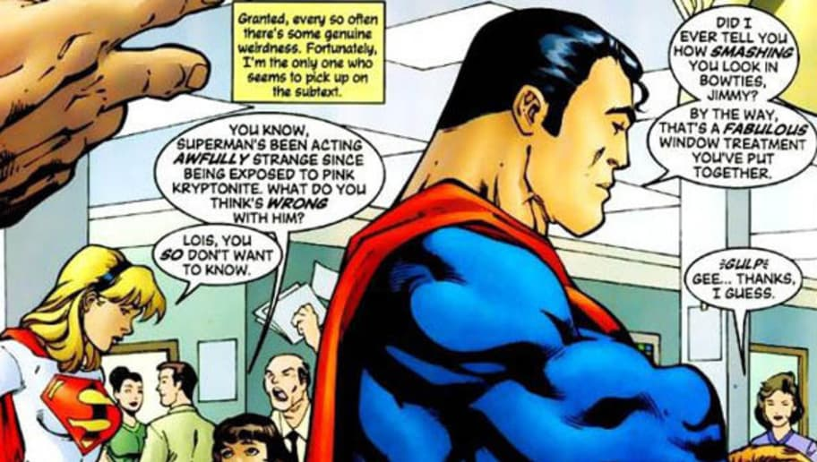 Superman stories gay