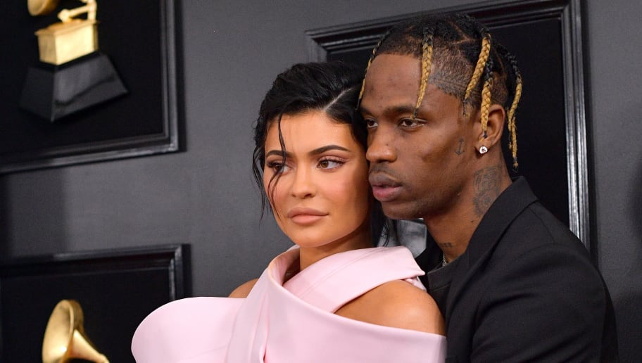 LOS ANGELES, CA - FEBRUARY 10:  Kylie Jenner (L) and Travis Scott attends the 61st Annual GRAMMY Awards at Staples Center on February 10, 2019 in Los Angeles, California.  (Photo by Matt Winkelmeyer/Getty Images for The Recording Academy)