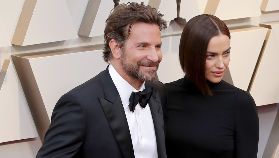 HOLLYWOOD, CA - FEBRUARY 24:  (EDITORS NOTE: Retransmission with alternate crop.) Bradley Cooper and Irina Shayk attends the 91st Annual Academy Awards at Hollywood and Highland on February 24, 2019 in Hollywood, California.  (Photo by Neilson Barnard/Getty Images)