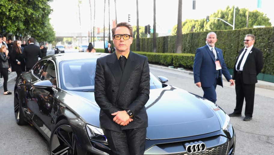 "HOLLYWOOD, CA - APRIL 22:  Robert Downey Jr. attends Audi Arrives At The World Premiere Of ""Avengers: Endgame"" on April 22, 2019 in Hollywood, California.  (Photo by Joe Scarnici/Getty Images for Audi)"