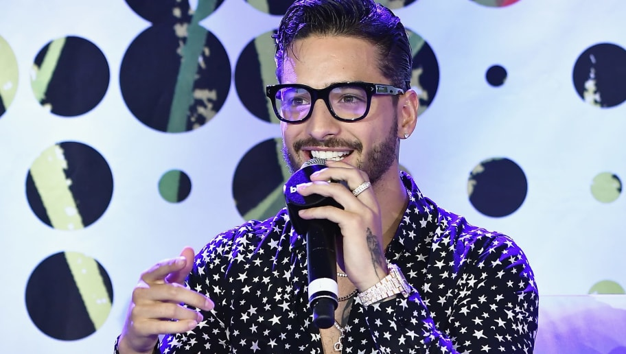 MIAMI BEACH, FL - APRIL 25:  Maluma speaks at the Billboard Latin Conference 2017 at Ritz Carlton South Beach on April 25, 2017 in Miami Beach, Florida.  (Photo by Gustavo Caballero/Getty Images for Billboard)