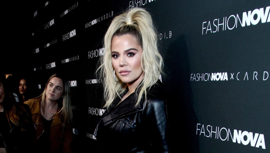 HOLLYWOOD, CA - NOVEMBER 14:  Khloe Kardashian attends the Fashion Nova x Cardi B Collaboration Launch Event at Boulevard3 on November 14, 2018 in Hollywood, California.  (Photo by Tommaso Boddi/Getty Images)