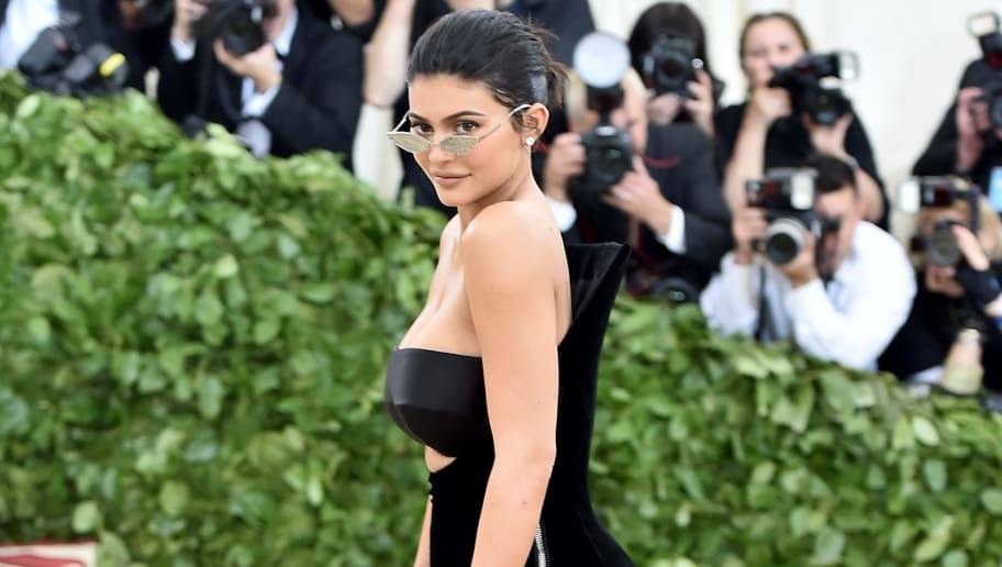 NEW YORK, NY - MAY 07:  Kylie Jenner attends the Heavenly Bodies: Fashion & The Catholic Imagination Costume Institute Gala at The Metropolitan Museum of Art on May 7, 2018 in New York City.  (Photo by Theo Wargo/Getty Images for Huffington Post)