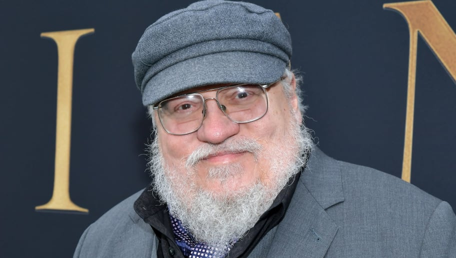 """WESTWOOD, CALIFORNIA - MAY 08: George R. R. Martin attends the LA Special Screening of Fox Searchlight Pictures' """"Tolkien"""" at Regency Village Theatre on May 08, 2019 in Westwood, California. (Photo by Amy Sussman/Getty Images)"""
