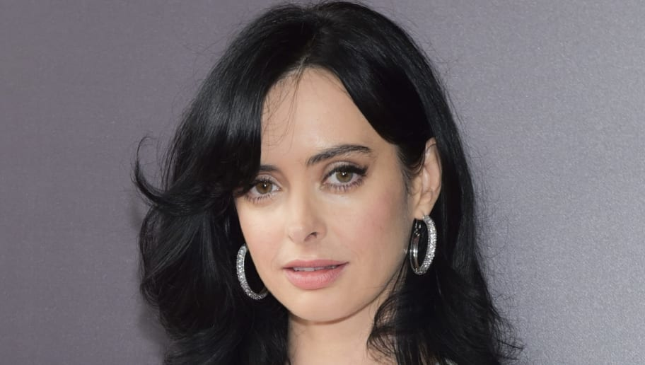 """LOS ANGELES, CA - MAY 19: Krysten Ritter arrives at the #NETFLIXFYSEE event for """"Jessica Jones"""" at Netflix FYSEE at Raleigh Studios on May 19, 2018 in Los Angeles, California.  (Photo by Rodin Eckenroth/Getty Images)"""
