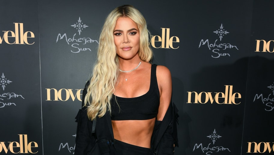 UNCASVILLE, CT - JUNE 22:  Khloe Kardashian walks the red carpet at the official grand opening party for Mohegan Sun's new ultra-lounge, novelle, on Saturday, June 22, 2019, in Uncasville, Connecticut.  (Photo by Dave Kotinsky/Getty Images for Mohegan Sun)