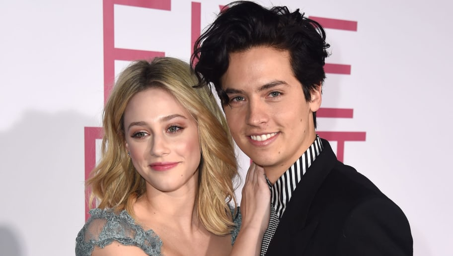 """LOS ANGELES, CALIFORNIA - MARCH 07: Lili Reinhart (L) and Cole Sprouse arrive at the premiere of CBS Films' """"Five Feet Apart"""" at the Fox Bruin Theatre on March 07, 2019 in Los Angeles, California. (Photo by Kevin Winter/Getty Images)"""