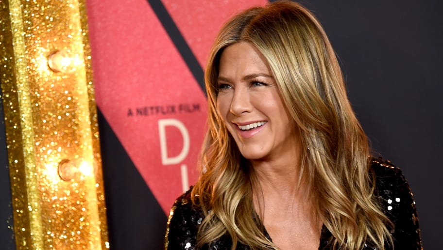 """LOS ANGELES, CA - DECEMBER 06:  Jennifer Aniston arrives at the premiere of Netflix's """"Dumplin'"""" at the Chinese Theater on December 6, 2018 in Los Angeles, California.  (Photo by Kevin Winter/Getty Images)"""
