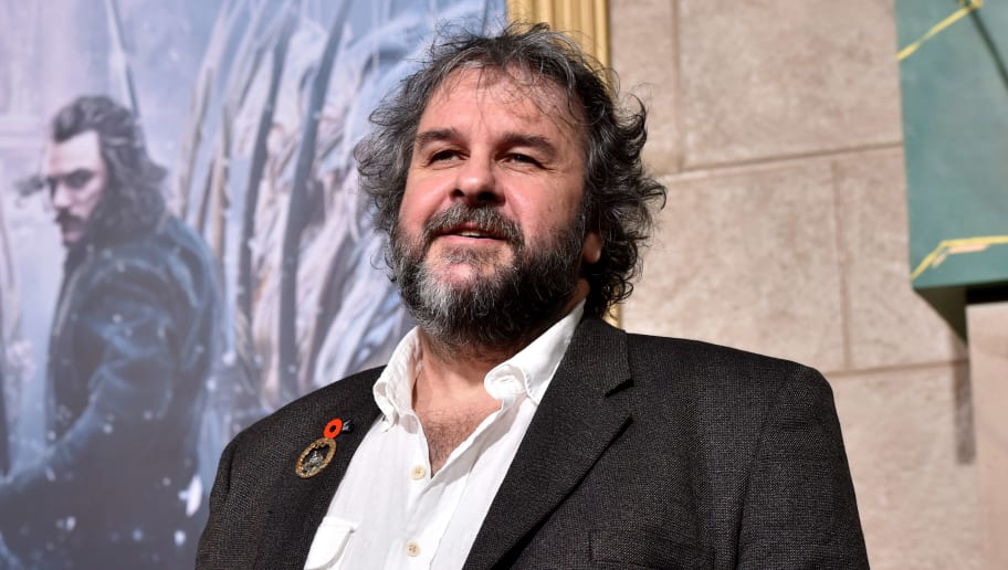"HOLLYWOOD, CA - DECEMBER 09:  Writer/director/producer Peter Jackson attends the premiere of New Line Cinema, MGM Pictures and Warner Bros. Pictures' ""The Hobbit: The Battle of the Five Armies"" at Dolby Theatre on December 9, 2014 in Hollywood, California.  (Photo by Kevin Winter/Getty Images)"