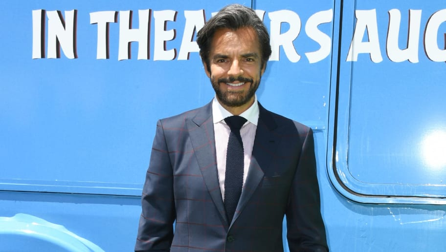 "LOS ANGELES, CALIFORNIA - AUGUST 10:  Eugenio Derbez attends the Premiere Of Sony's ""The Angry Birds Movie 2"" on August 10, 2019 in Los Angeles, California. (Photo by Jon Kopaloff/Getty Images)"