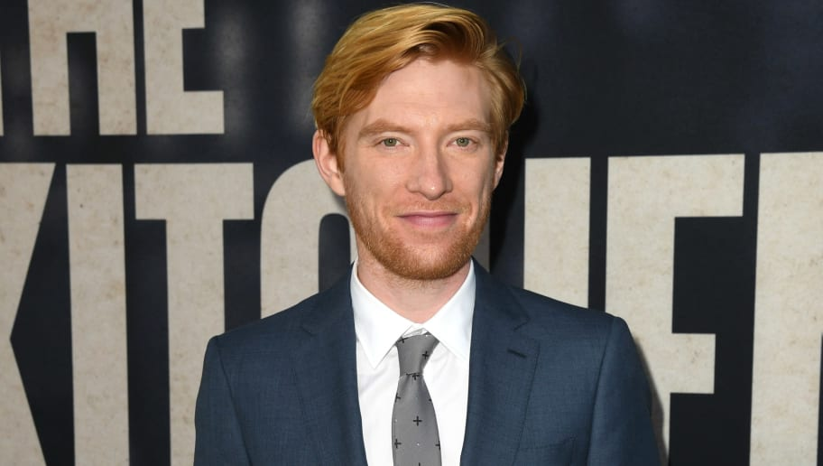 "HOLLYWOOD, CALIFORNIA - AUGUST 05: Domhnall Gleeson attends the premiere of Warner Bros Pictures' ""The Kitchen"" at TCL Chinese Theatre on August 05, 2019 in Hollywood, California. (Photo by Kevin Winter/Getty Images)"