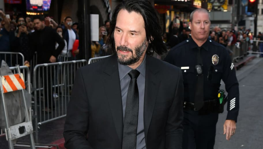 """HOLLYWOOD, CALIFORNIA - MAY 15: Keanu Reeves attends the special screening of Lionsgate's """"John Wick: Chapter 3 - Parabellum"""" at TCL Chinese Theatre on May 15, 2019 in Hollywood, California. (Photo by Kevin Winter/Getty Images)"""