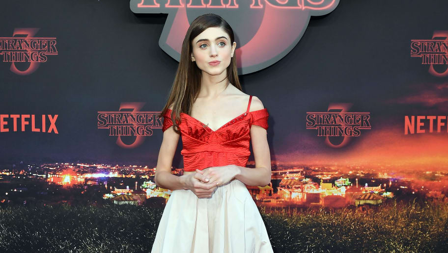 PARIS, FRANCE - JULY 04: Natalia Dyer attends the Stranger Night Paris At Le Grand Rex on July 04, 2019 in Paris, France. (Photo by Dominique Charriau/Getty Images For Netflix)