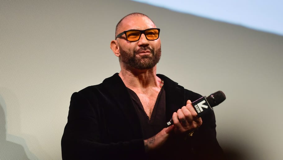 """AUSTIN, TEXAS - MARCH 13: Dave Bautista attends the """"Stuber"""" Premiere 2019 SXSW Conference and Festivals at Paramount Theatre on March 13, 2019 in Austin, Texas. (Photo by Matt Winkelmeyer/Getty Images for SXSW)"""