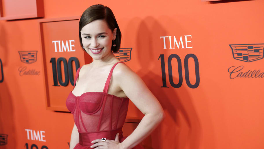 NEW YORK, NEW YORK - APRIL 23: Emilia Clarke attends the TIME 100 Gala Red Carpet at Jazz at Lincoln Center on April 23, 2019 in New York City. (Photo by Dimitrios Kambouris/Getty Images for TIME)