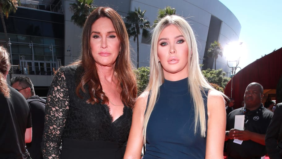 LOS ANGELES, CALIFORNIA - JULY 10: Caitlyn Jenner and Sophia Hutchins attend The 2019 ESPYs at Microsoft Theater on July 10, 2019 in Los Angeles, California. (Photo by Rich Fury/Getty Images)