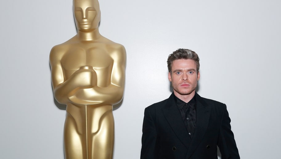 """NEW YORK, NY - MAY 29:  Actor Richard Madden attends The Academy of Motion Picture Arts and Sciences official screening of """"Rocketman"""" at the MoMA, Celeste Bartos Theater on May 29, 2019 in New York City.  (Photo by Lars Niki/Getty Images for The Academy Of Motion Picture Arts & Sciences)"""