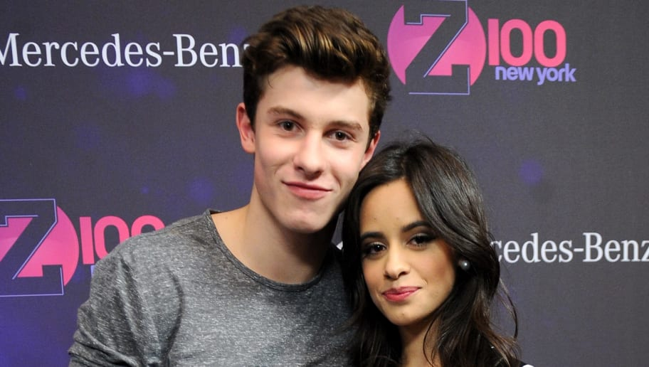 NEW YORK, NY - DECEMBER 11:  Shawn Mendes and Camila Cabello attend Z100's Jingle Ball 2015 at Madison Square Garden on December 11, 2015 in New York City.  (Photo by Brad Barket/Getty Images for iHeartMedia)