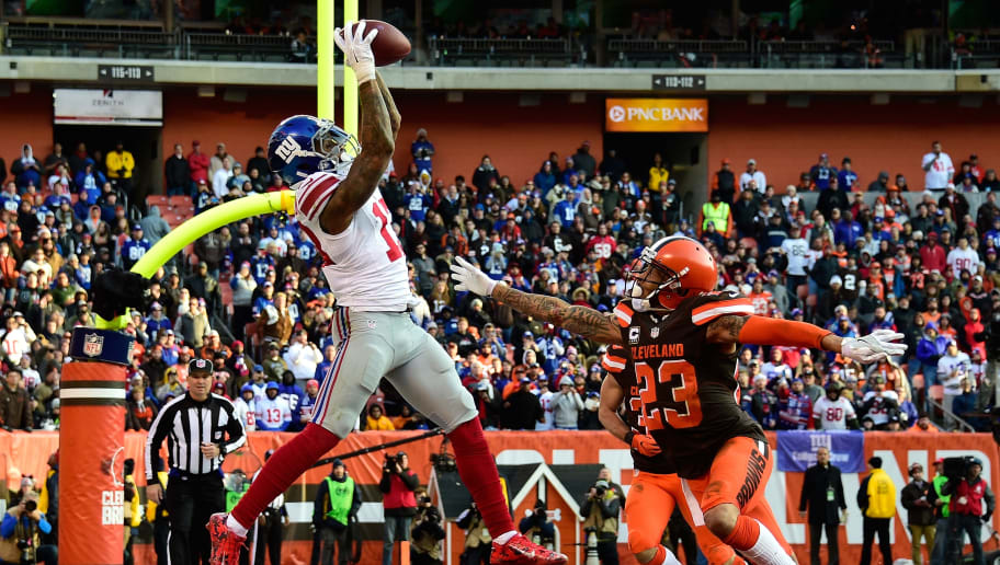 d1769947de4 Odell Beckham Jr. Has Low Receiving Yards Over/Under for 2019 NFL Season  With Browns