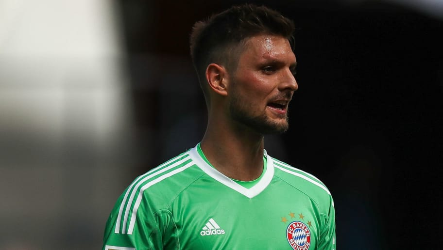 COLOGNE, GERMANY - MAY 05: Sven Ulreich #26 of Bayern Munich reacts during the Bundesliga match between 1. FC Koeln and FC Bayern Muenchen at RheinEnergieStadion on May 5, 2018 in Cologne, Germany. (Photo by Maja Hitij/Bongarts/Getty Images)