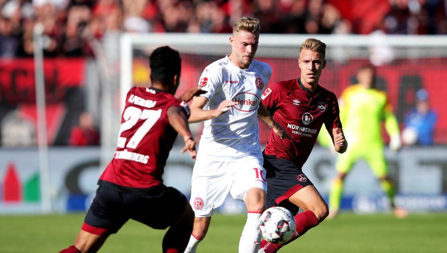 Fortuna Düsseldorf - 1. FC Nürnberg | Die offiziellen Aufstellungen