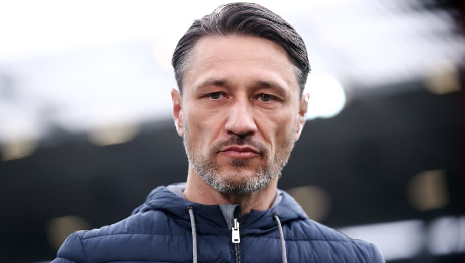 MAINZ, GERMANY - OCTOBER 27: Head coach Niko Kovac of Muenchen looks on prior to the Bundesliga match between 1. FSV Mainz 05 and FC Bayern Muenchen at Opel Arena on October 27, 2018 in Mainz, Germany. (Photo by Alex Grimm/Bongarts/Getty Images)