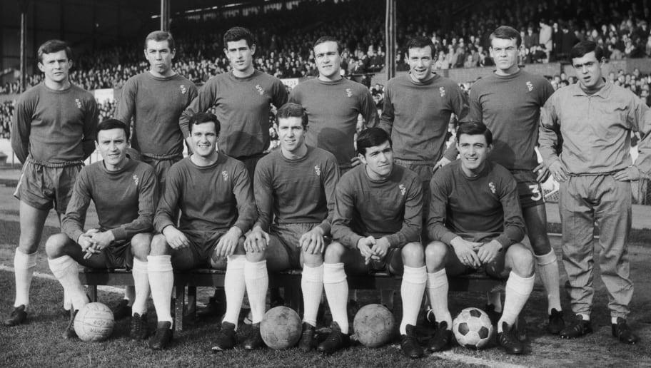 Barry Bridges,Eddie McCreadie,Ron Harris,Peter Osgood,John Boyle,Bobby Tambling,George Graham,John Hollins,Terry Venables,Marvin Hinton,Peter Bonetti