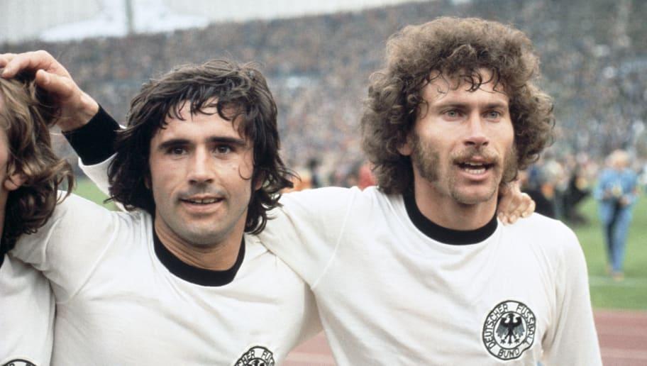 Gerd Muller,Paul Breitner