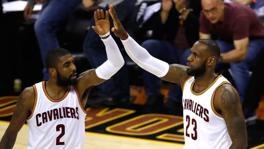 huge discount 2e941 49d47 Kyrie Irving Reveals He Called LeBron James to Apologize ...
