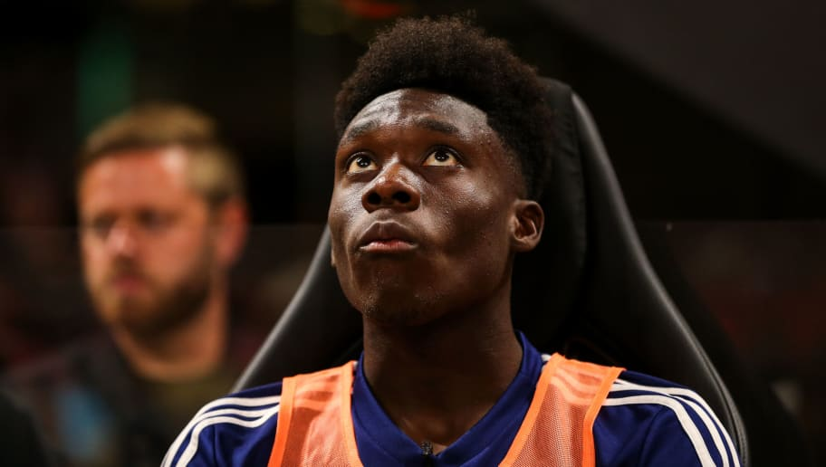 ATLANTA, GA - AUGUST 01: Alphonso Davies of MLS All Stars during the 2018 MLS All-Stars game between Juventus v MLS All-Stars at Mercedes-Benz Stadium on August 1, 2018 in Atlanta, Georgia. (Photo by Robbie Jay Barratt - AMA/Getty Images)