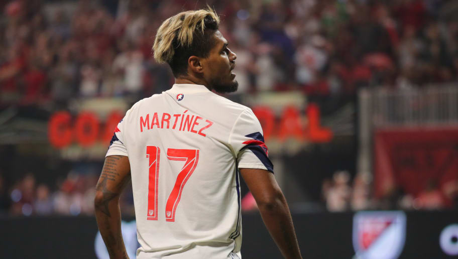 ATLANTA, GA - AUGUST 01: Josef Martinez of the MLS Allstars during the 2018 MLS All-Stars game between Juventus v MLS All-Stars at Mercedes-Benz Stadium on August 1, 2018 in Atlanta, Georgia. (Photo by Matthew Ashton - AMA/Getty Images)