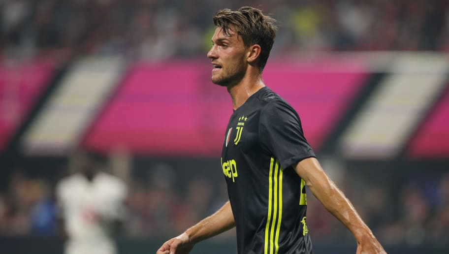 ATLANTA, GA - AUGUST 01: Daniele Rugani of Juventus during the 2018 MLS All-Stars game between Juventus v MLS All-Stars at Mercedes-Benz Stadium on August 1, 2018 in Atlanta, Georgia. (Photo by Matthew Ashton - AMA/Getty Images)