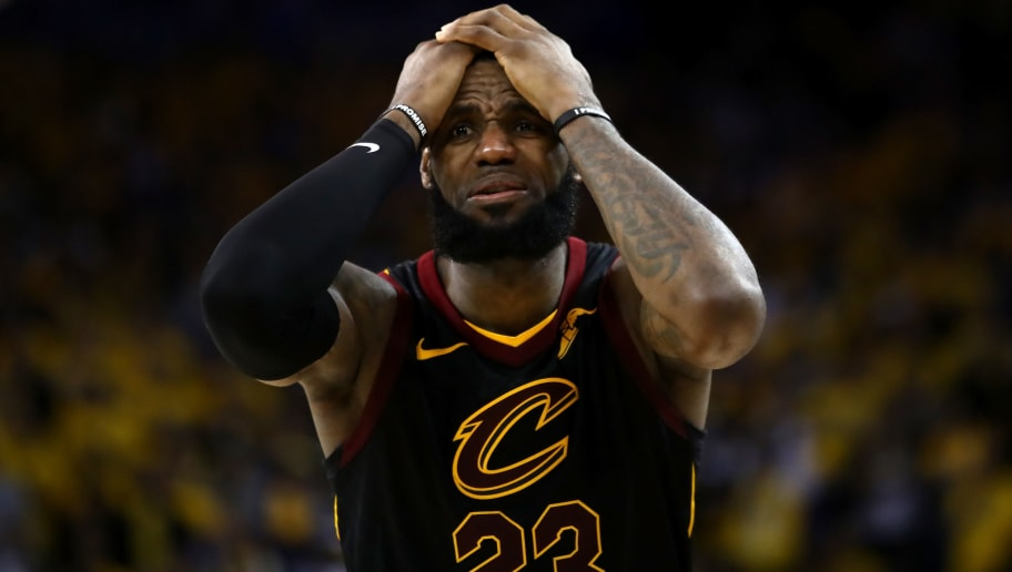 c935b55d69440 Tristan Thompson-Draymond Green Fight Shows LeBron is Totally Done With the  Cavs