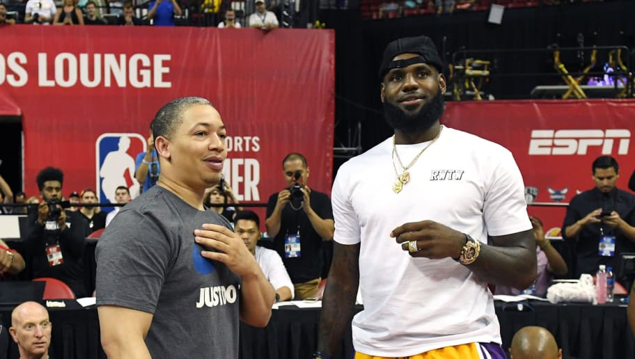 LeBron James,Tyronn Lue