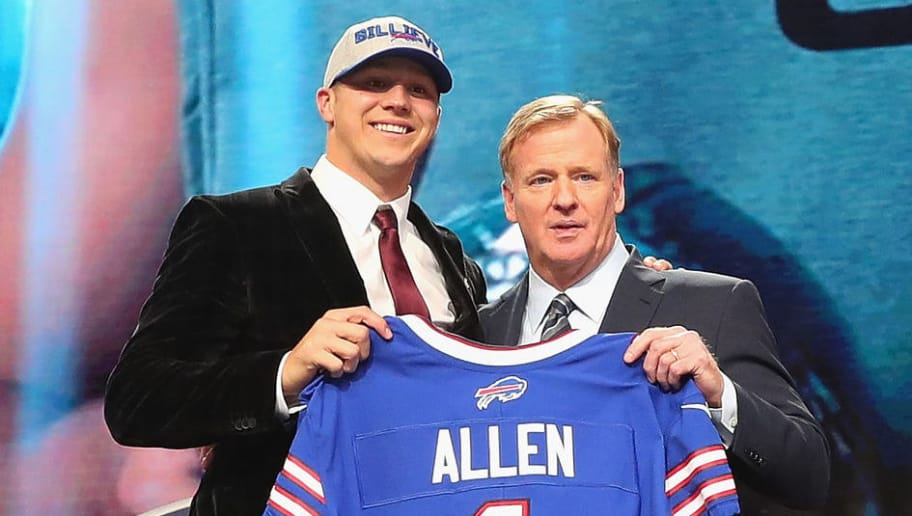 brand new 9bf20 ba59d Josh Allen Selects Jersey Number For the Bills | 12up