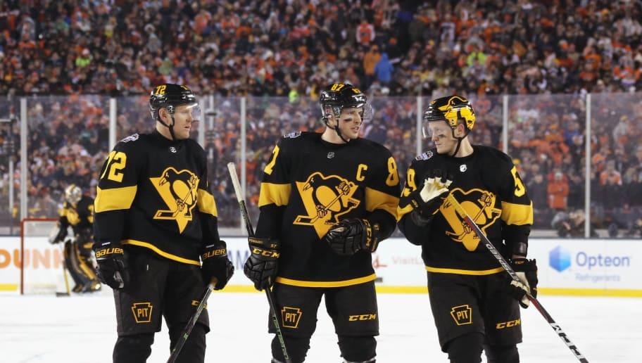 Patric Hornqvist,Sidney Crosby,Jake Guentzel