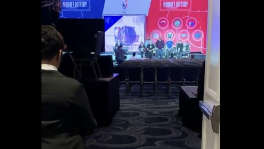 VIDEO: ESPN NBA Draft Lottery 2019 Rehearsal Leaks Featuring