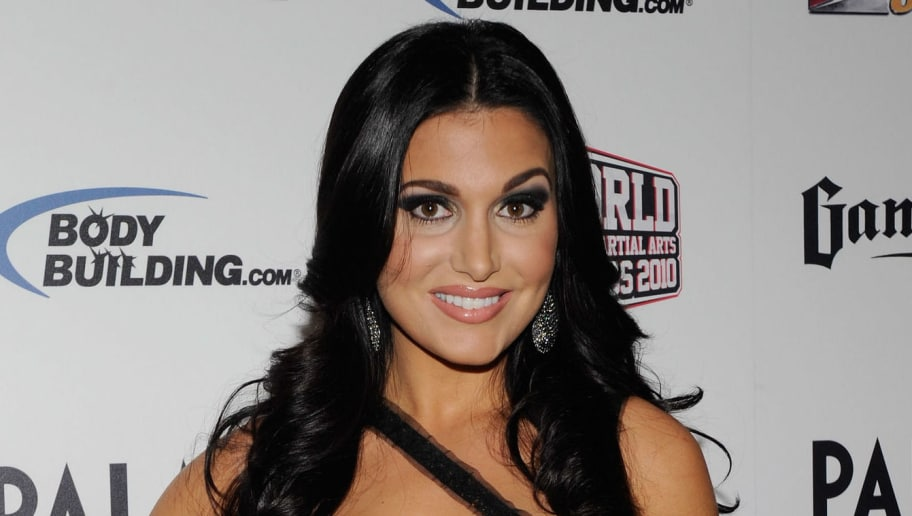 LAS VEGAS, NV - DECEMBER 01:  Broadcaster Molly Qerim arrives at the third annual Fighters Only World Mixed Martial Arts Awards 2010 at the Palms Casino Resort December 1, 2010 in Las Vegas, Nevada.  (Photo by Ethan Miller/Getty Images)