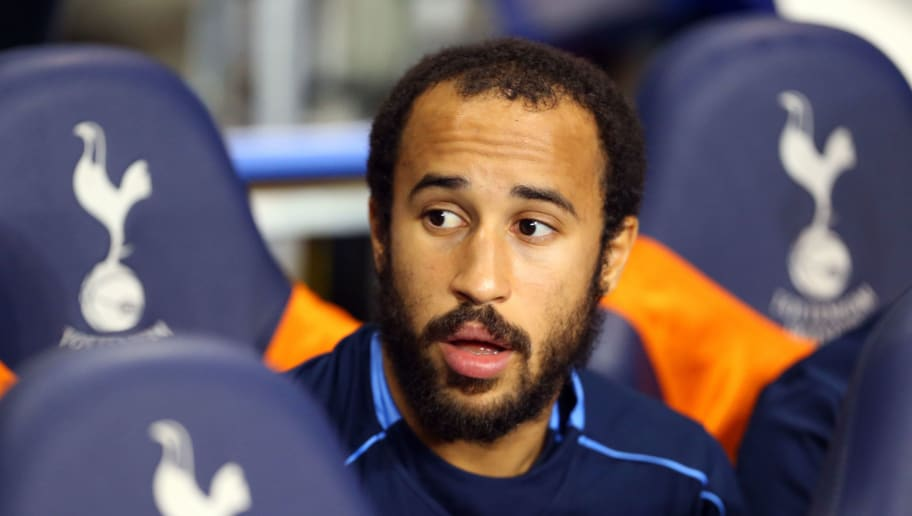 LONDON, ENGLAND - NOVEMBER 02:  Andros Townsend of Tottenham Hotspur sits on the bench before the Barclays Premier League match between Tottenham Hotspur and Aston Villa at White Hart Lane on November 2, 2015 in London, England.  (Photo by Catherine Ivill - AMA/Getty Images)