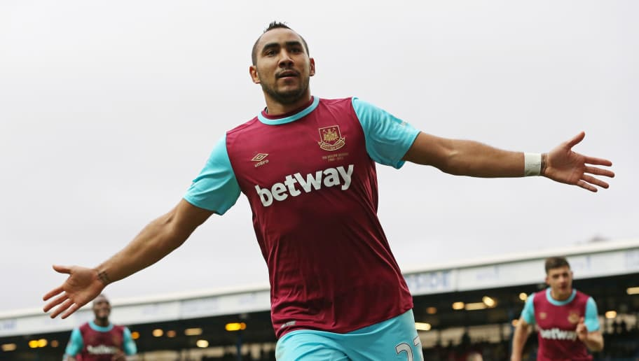 BLACKBURN, ENGLAND - FEBRUARY 21:  Dimitri Payet of West Ham United celebrates after scoring his team's fifth goal during The Emirates FA Cup fifth round match between Blackburn Rovers and West Ham United at Ewood park on February 21, 2016 in Blackburn, England.  (Photo by Jan Kruger/Getty Images)