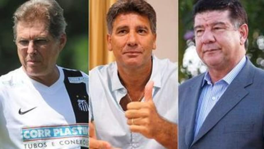 Os 8 melhores treinadores brasileiros desempregados | 90min