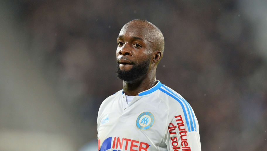 Marseille's French midfielder Lassana Diarra looks on during the French L1 football  match between Bordeaux and Marseille on December 20, 2015 at the Matmut Atlantique stadium in Bordeaux, southwestern France. AFP PHOTO / NICOLAS TUCAT / AFP / NICOLAS TUCAT        (Photo credit should read NICOLAS TUCAT/AFP/Getty Images)